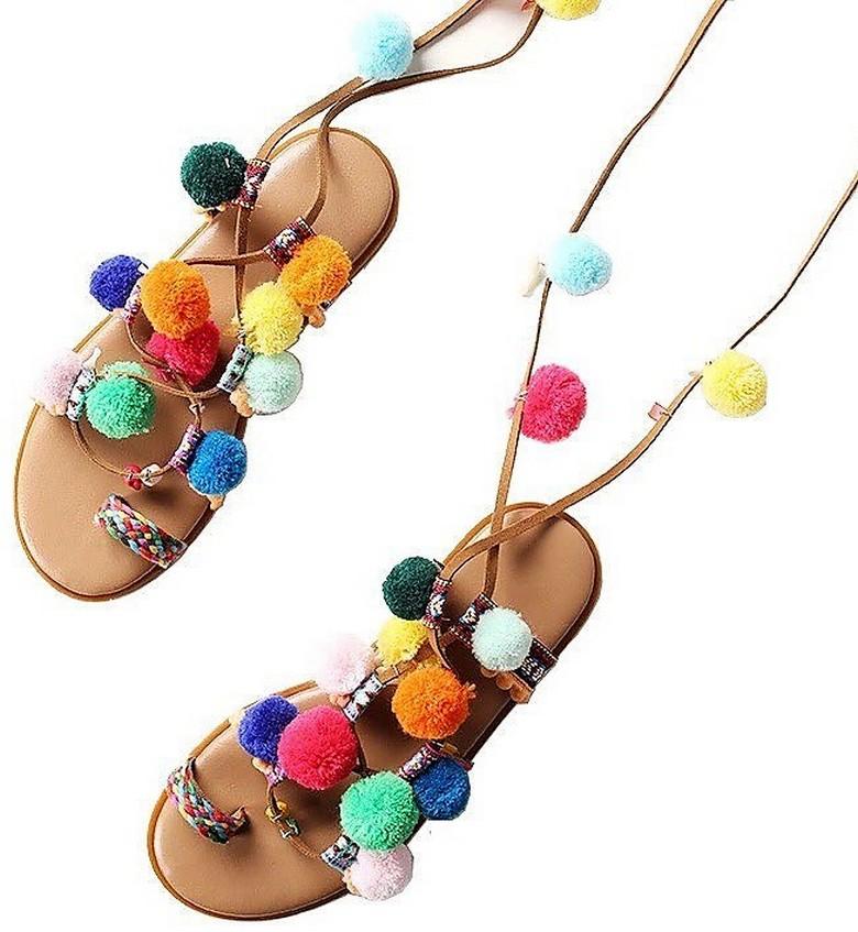 boho style shoes 56