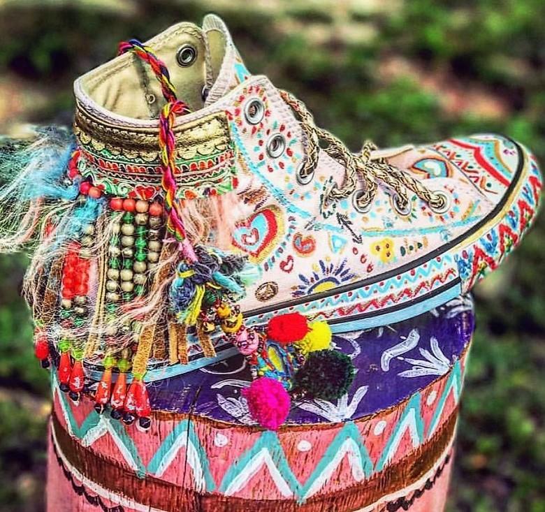 boho style shoes 57