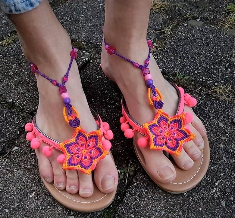 boho style shoes 59