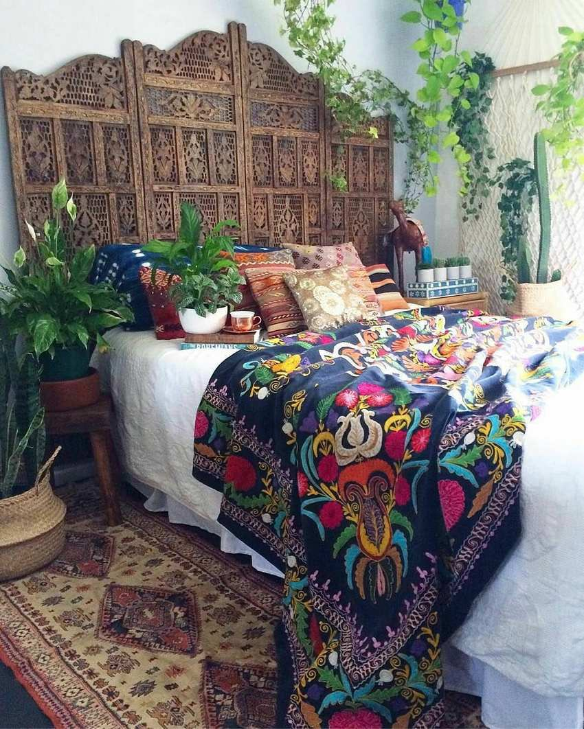 Bohemian Bedroom Decor And Design Ideas (21)