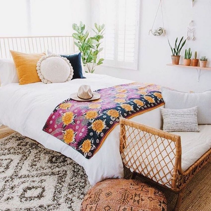 Bohemian Bedroom Decor And Design Ideas (26)