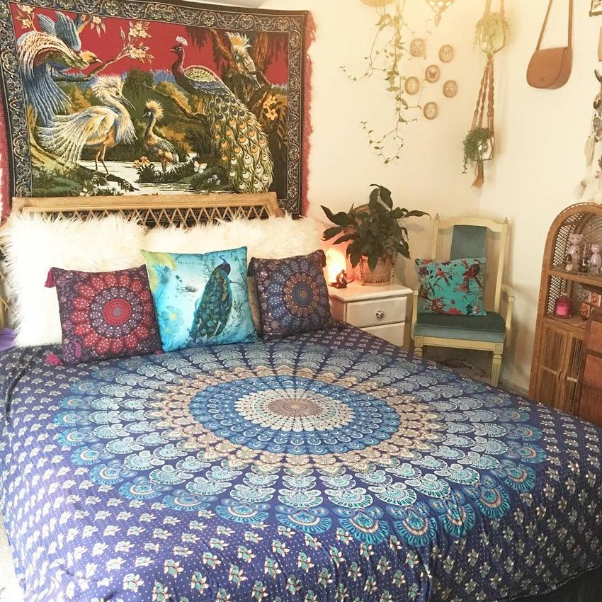 Bohemian Bedroom Decor And Design Ideas (33)