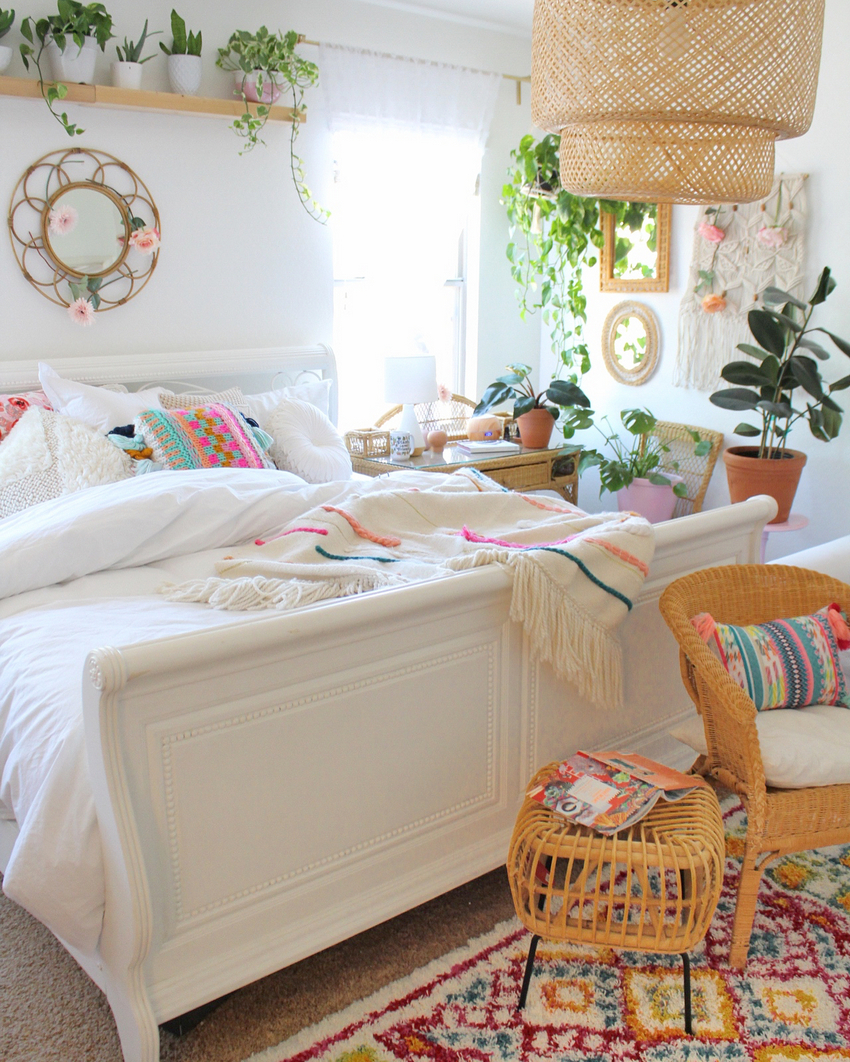Bohemian Bedroom Decor And Design Ideas (50)