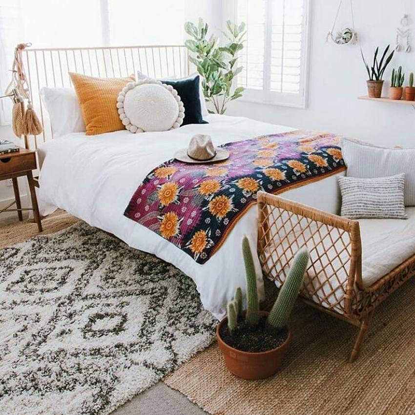 Bohemian Bedroom Decor And Design Ideas (52)