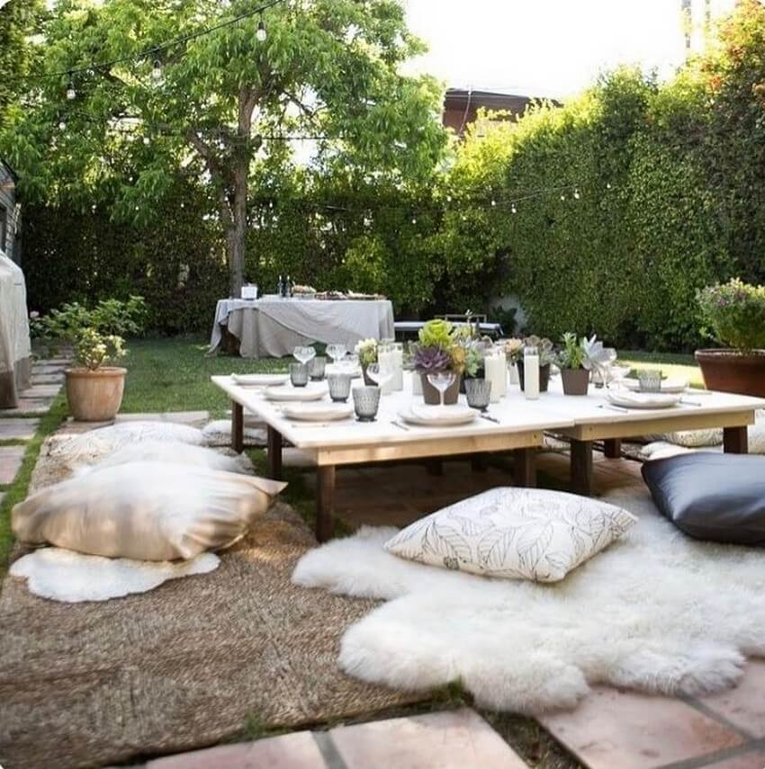 Bohemian Garden Designs And Backyard Ideas (1)