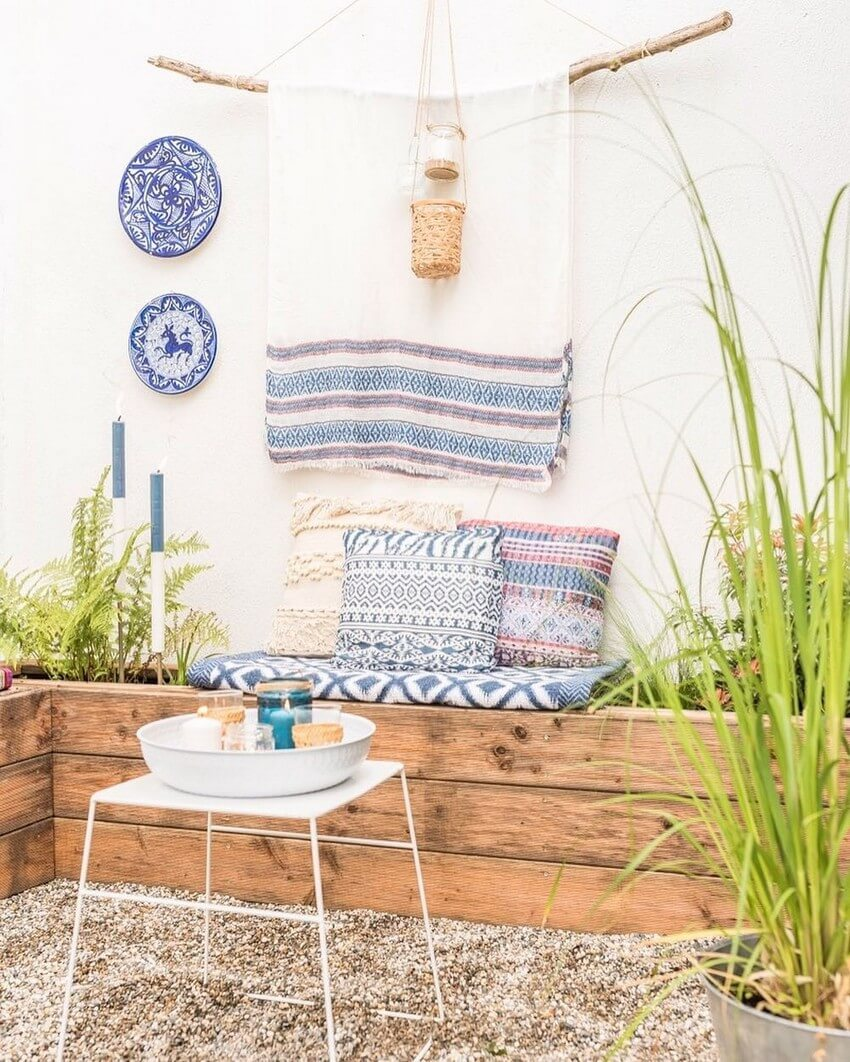 Bohemian Garden Designs And Backyard Ideas (10)