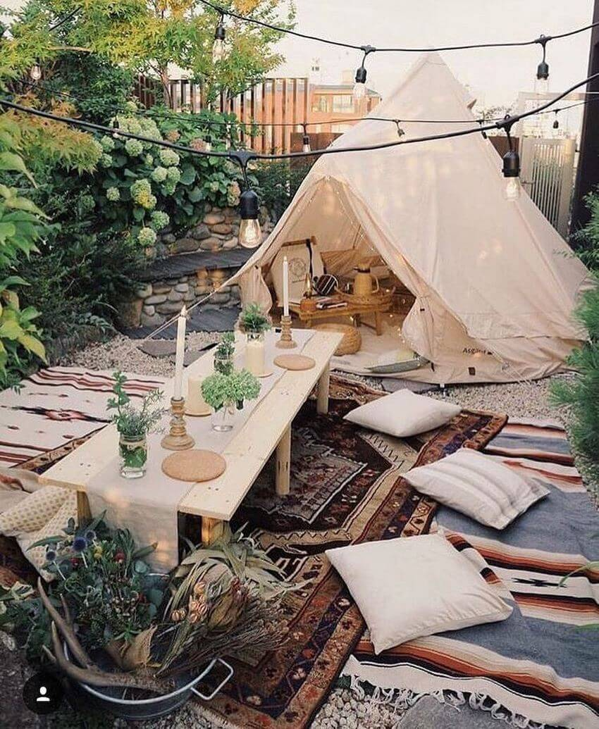 Bohemian Garden Designs And Backyard Ideas (14)
