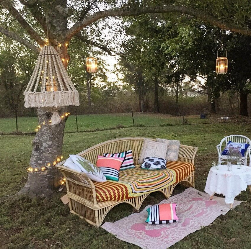 Bohemian Garden Designs And Backyard Ideas (16)