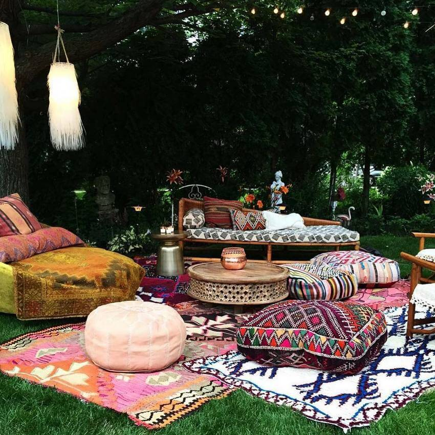 Bohemian Garden Designs And Backyard Ideas (19)