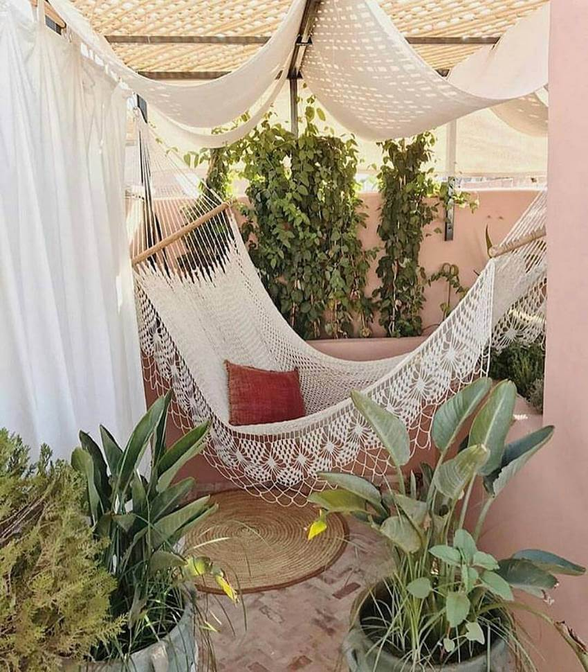 Bohemian Garden Backyard and Patio Ideas - Bohemian ... on Bohemian Patio Ideas id=57785