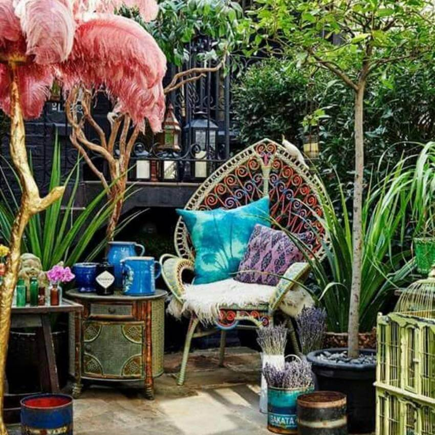 Bohemian Garden Designs And Backyard Ideas (26)