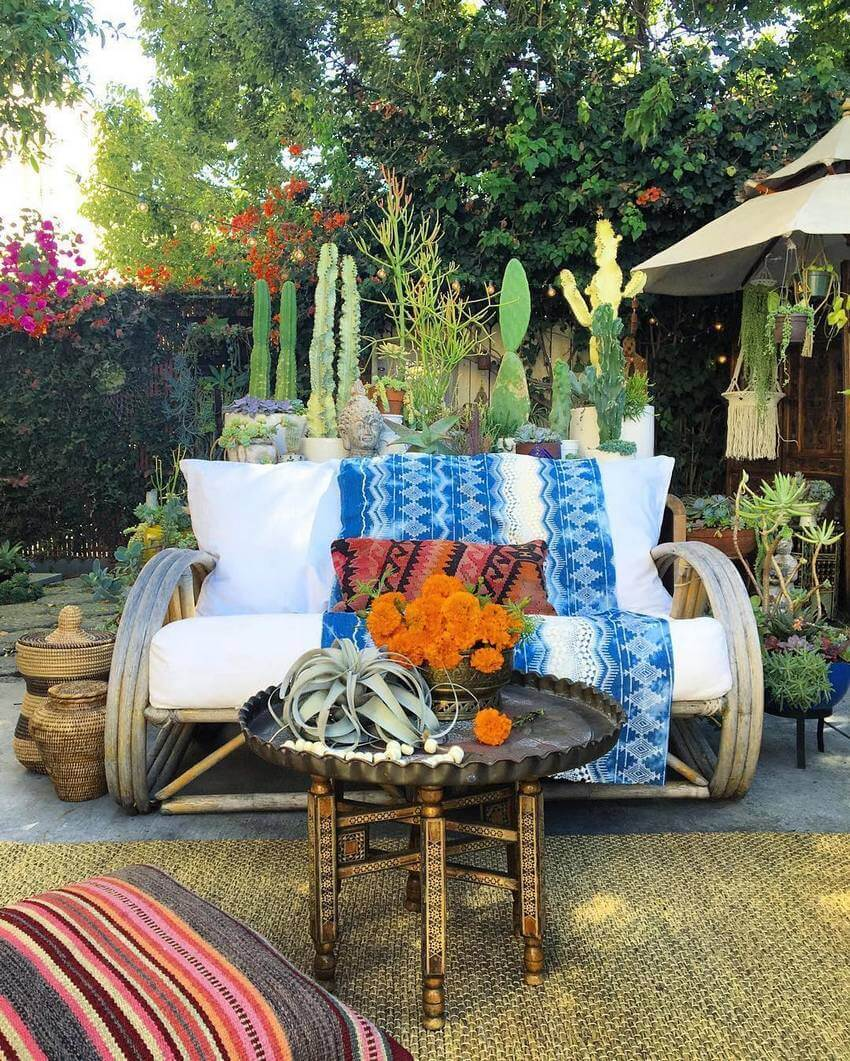 Bohemian Garden Designs And Backyard Ideas (30)