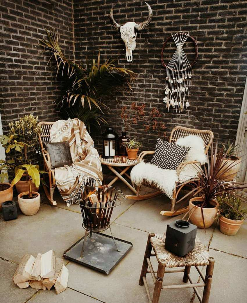 Bohemian Garden Designs And Backyard Ideas (34)