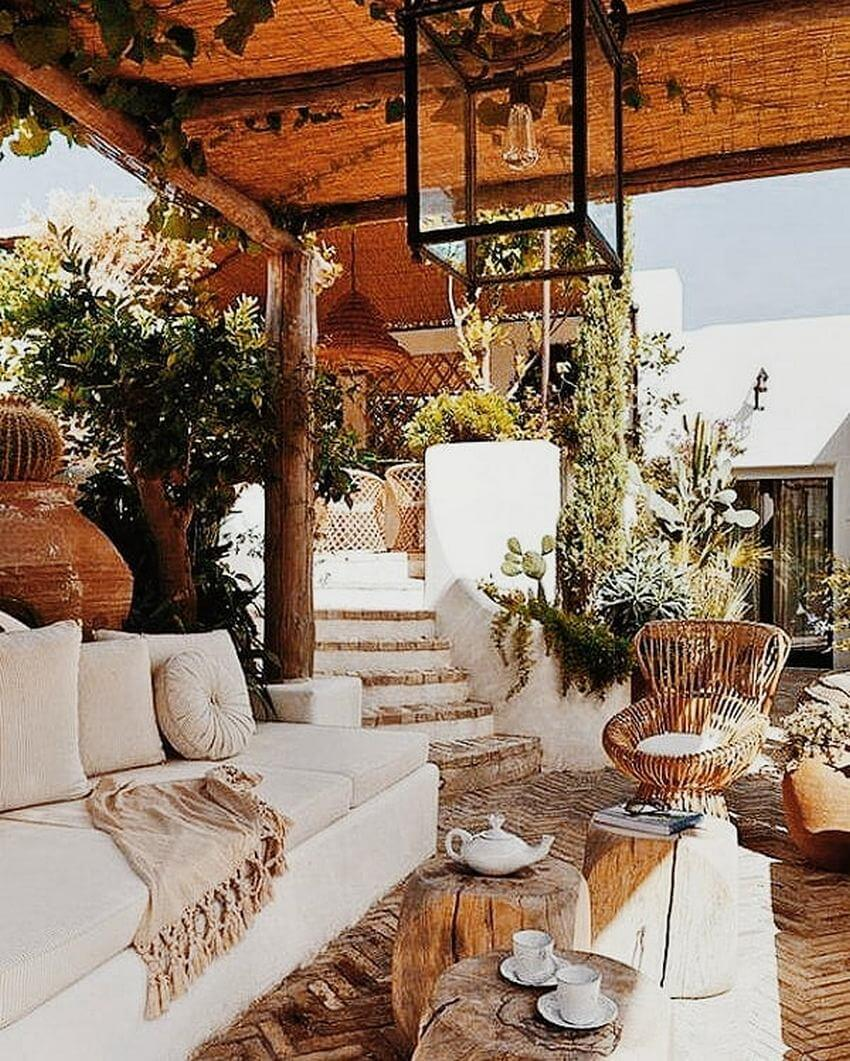 Bohemian Garden Designs And Backyard Ideas (46)