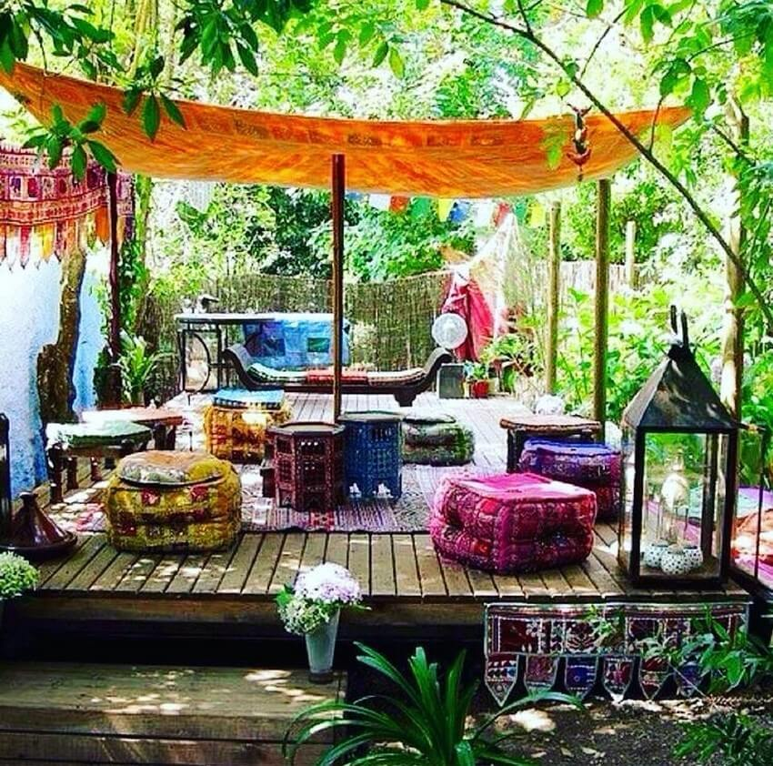 Bohemian Garden Designs And Backyard Ideas (47)