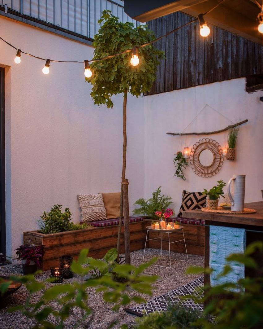 Bohemian Garden Designs And Backyard Ideas (5)