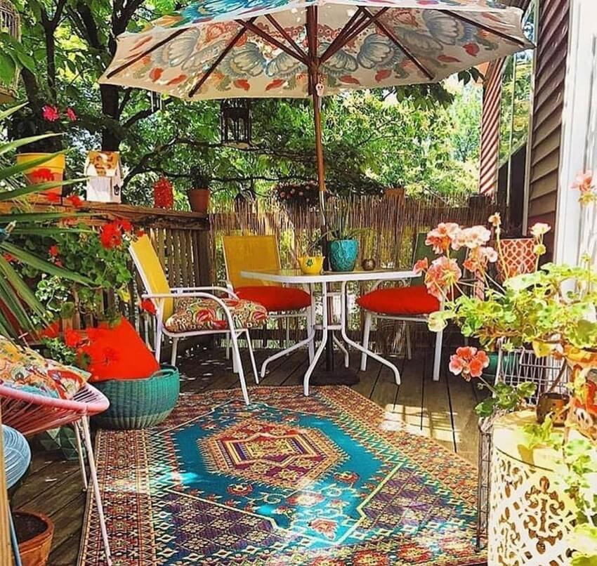 Bohemian Garden Designs And Backyard Ideas (52)