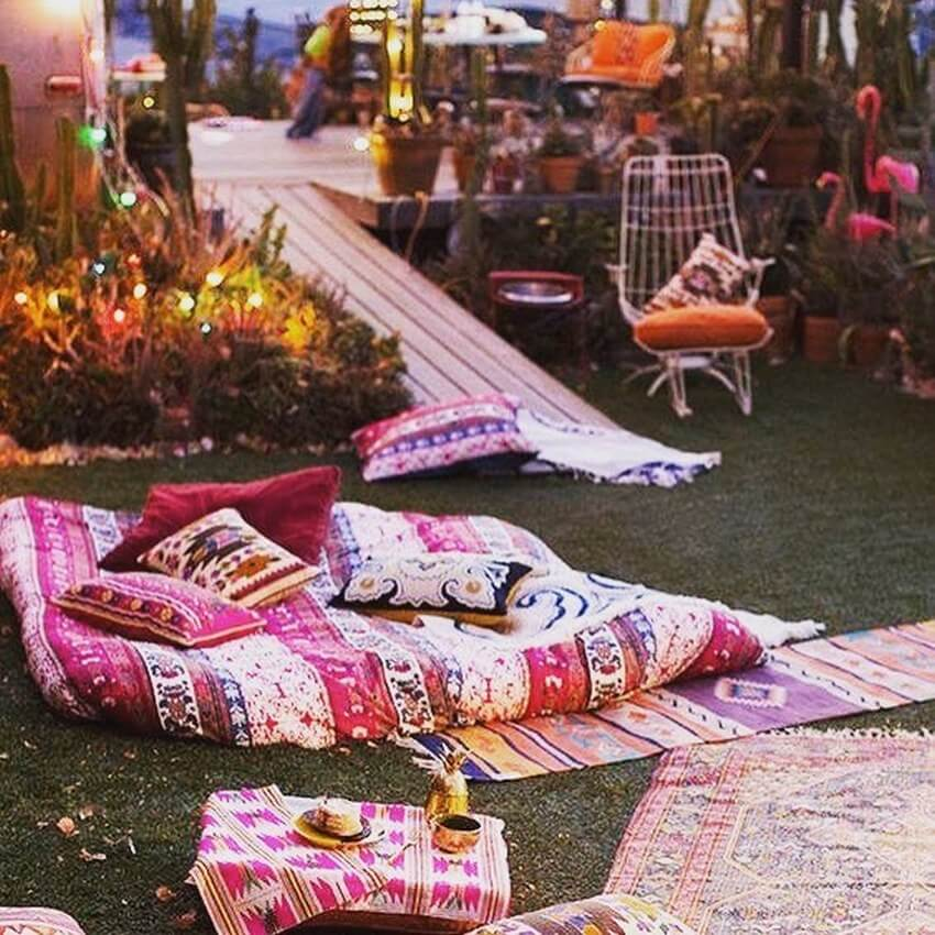 Bohemian Garden Designs And Backyard Ideas (9)