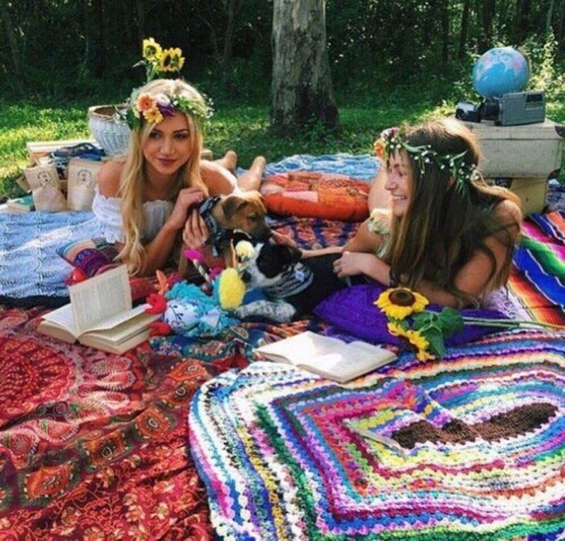 Bohemian Lifestyle And Boho Style Fashion (11)