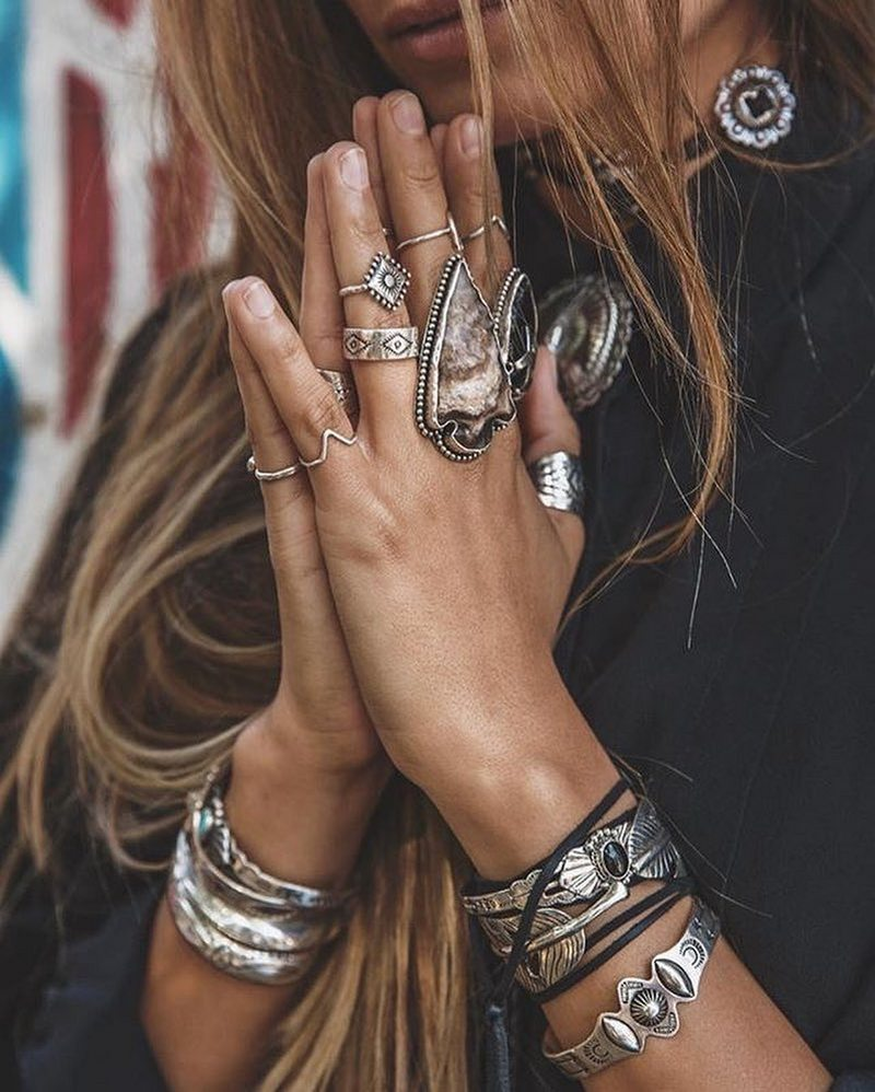 Bohemian Lifestyle And Boho Style Fashion (14)