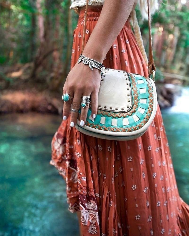 Bohemian Lifestyle And Boho Style Fashion (33)