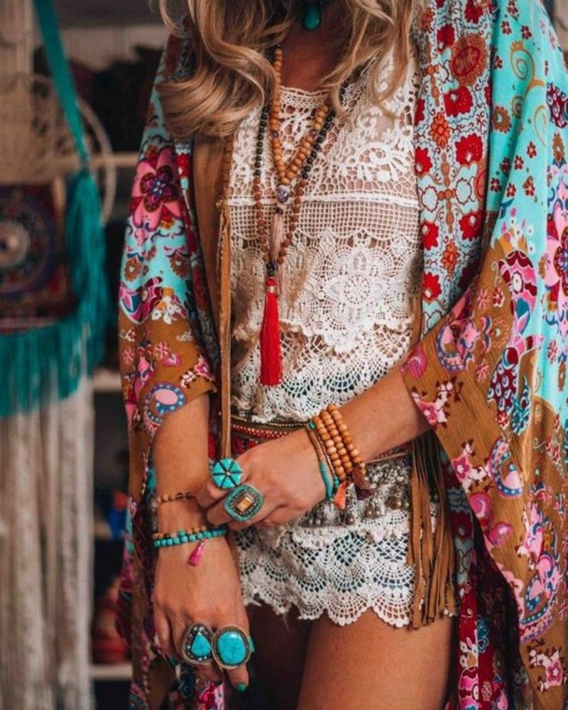 Bohemian Lifestyle And Boho Style Fashion (6)