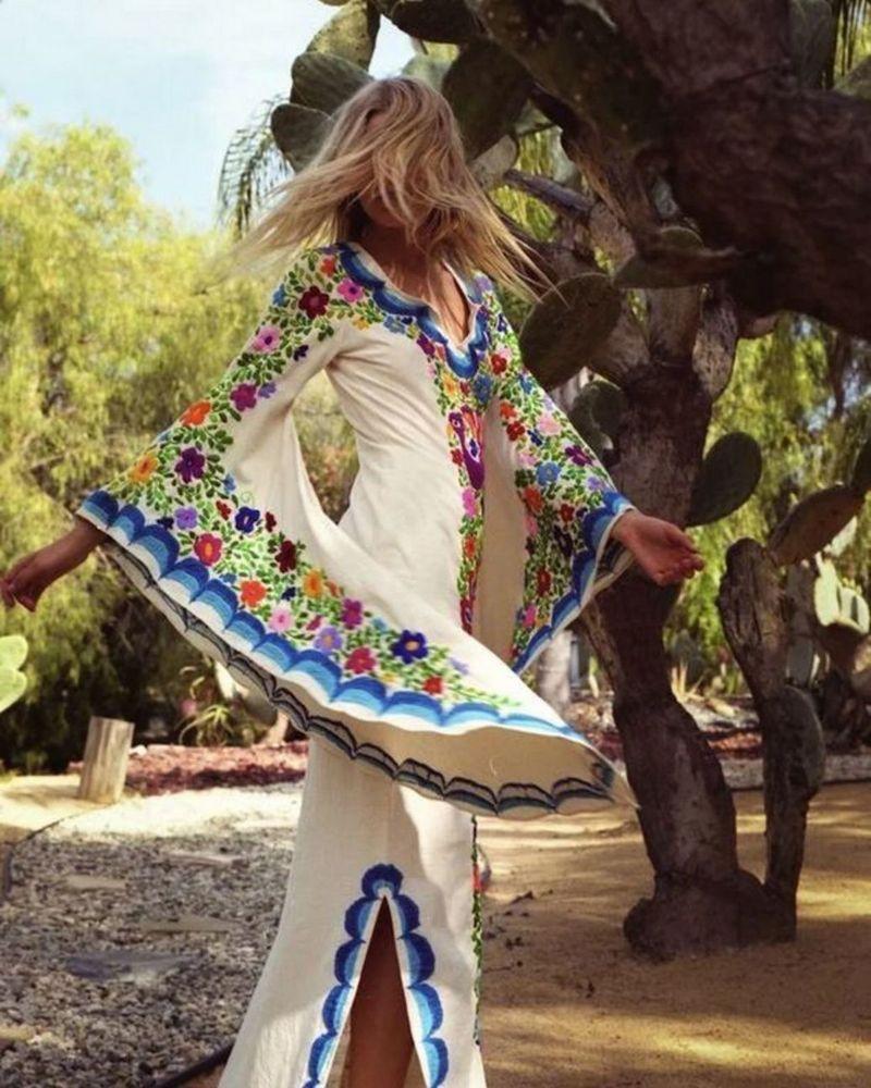 Bohemian Lifestyle And Boho Style Fashion (9)