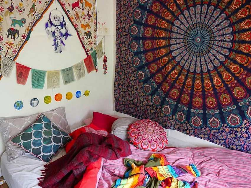 Bohemian Style Home Decor Ideas (1)