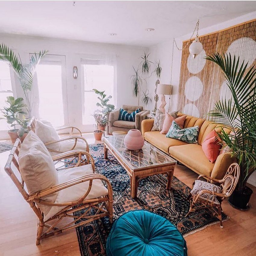 Bohemian Style Home Decor Ideas (15)
