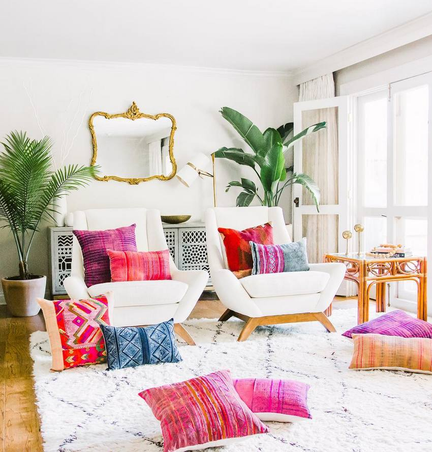 Bohemian Style Home Decor Ideas (17)