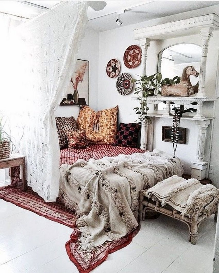 Bohemian Style Home Decor Ideas (19)