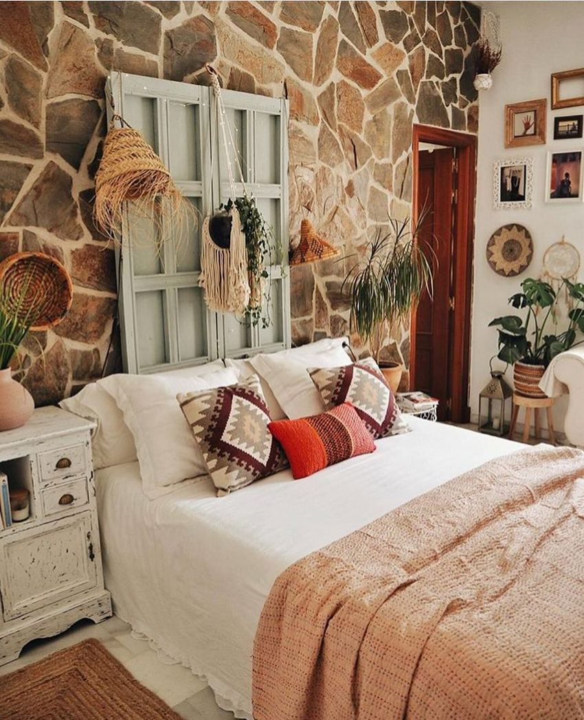 Bohemian Style Home Decor Ideas (22)