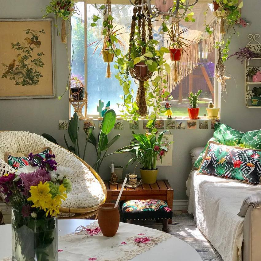 Bohemian Style Home Decor Ideas (24)