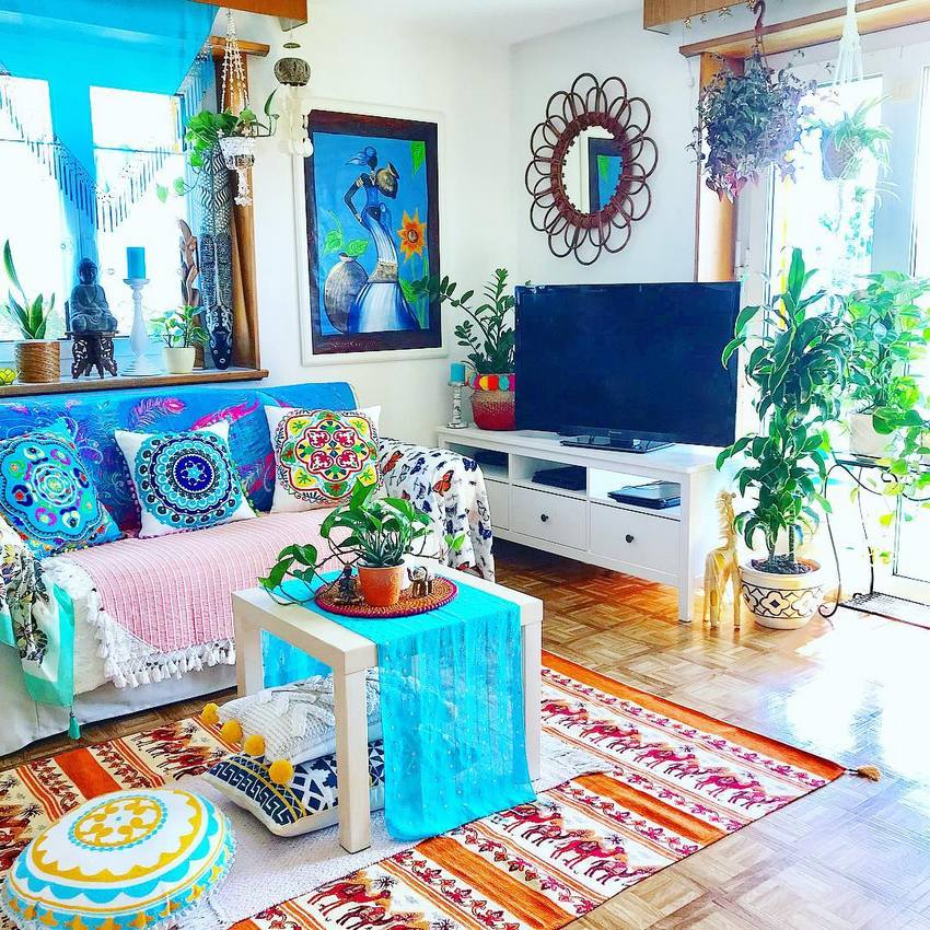 Bohemian Style Home Decor Ideas (3)