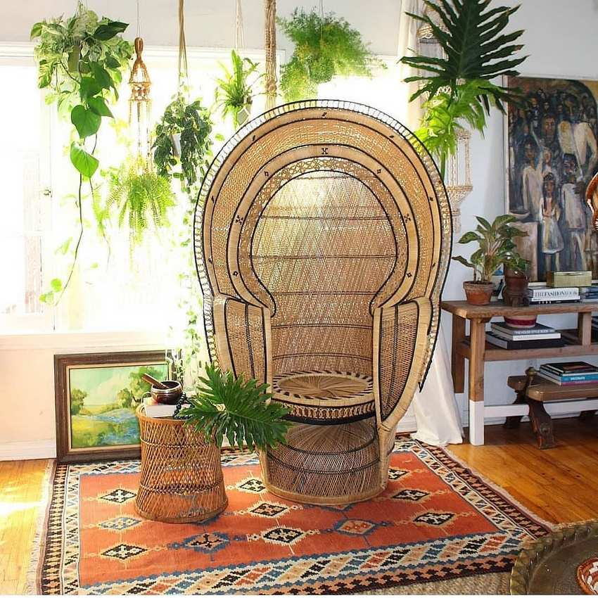 Bohemian Style Home Decor Ideas (37)