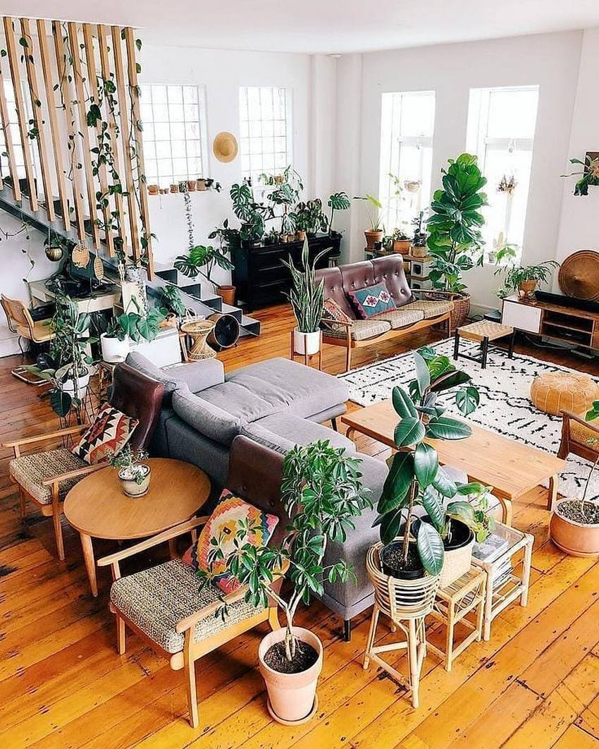 Bohemian Style Home Decor Ideas (38)