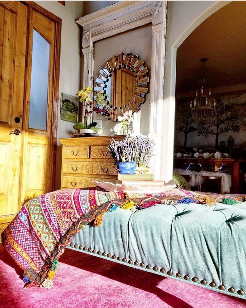 Bohemian Style Home Decor Ideas (40)