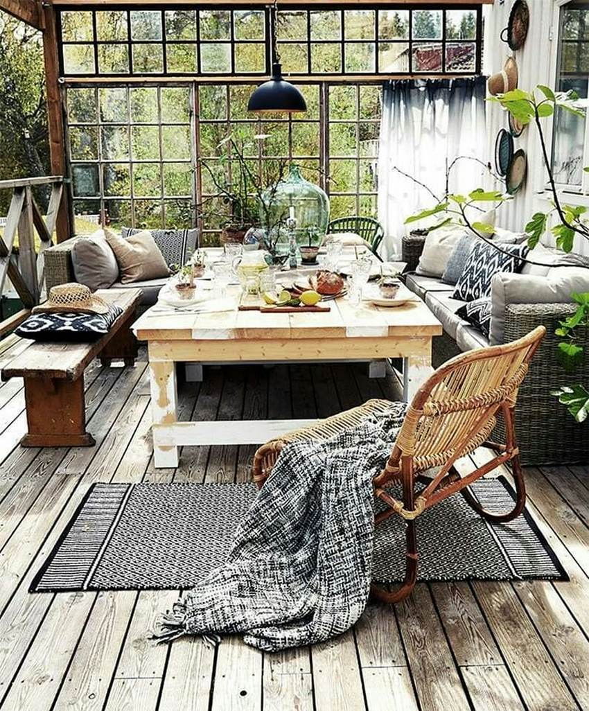 Bohemian Style Home Decor Ideas (43)