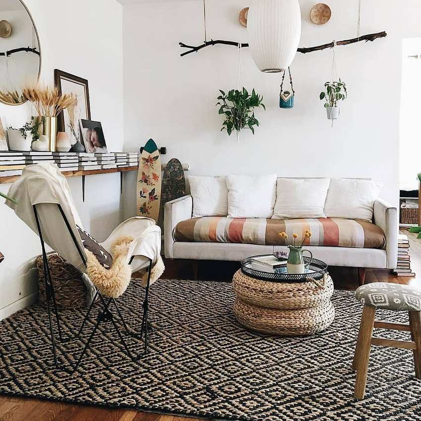 Bohemian Style Home Decor Ideas (48)