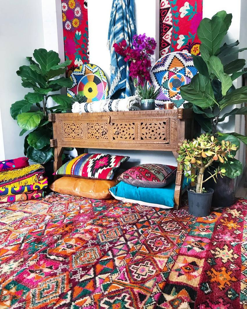 Bohemian Style Home Decor Ideas (50)