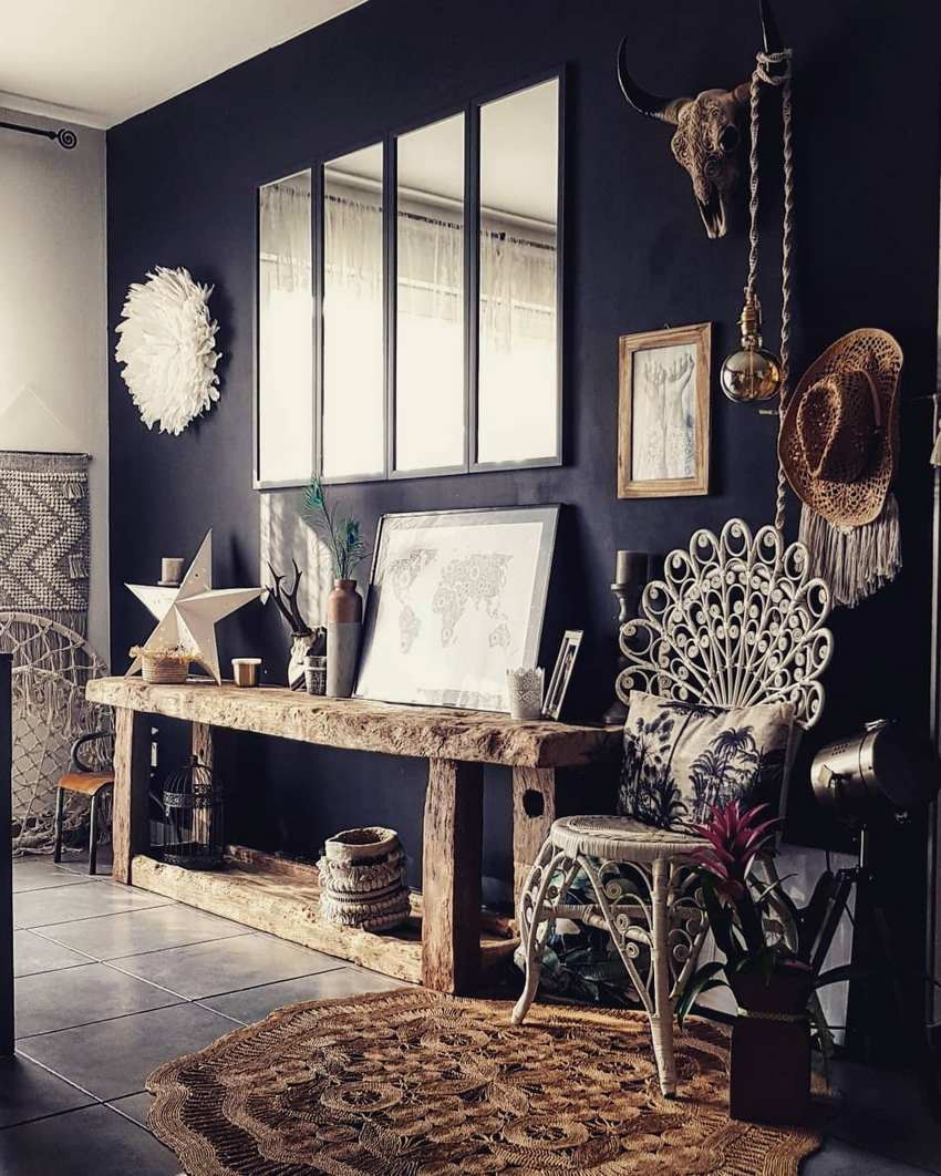 Bohemian Style Home Decor Ideas (55)