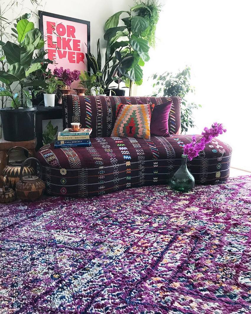 Bohemian Style Home Decor Ideas (57)