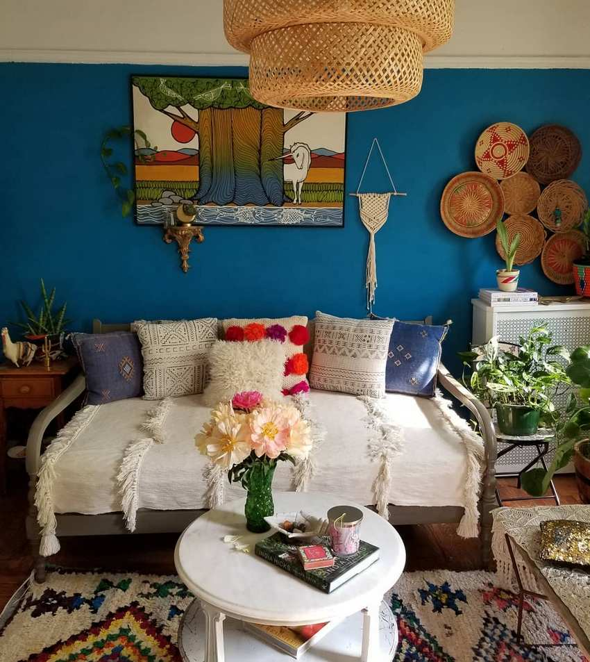 Bohemian Style Home Decor Ideas (59)