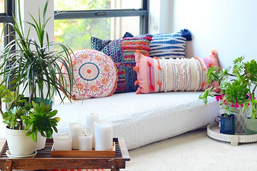 Bohemian Style Home Decor Ideas (7)