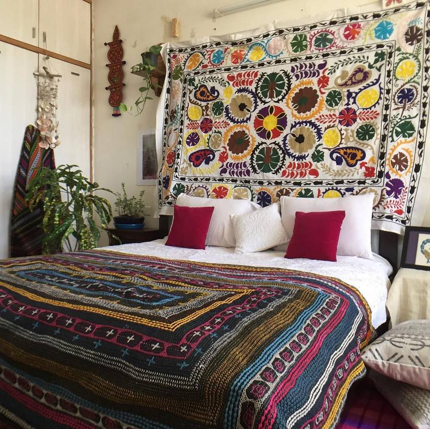 Bohemian Style Home Decor Ideas (9)