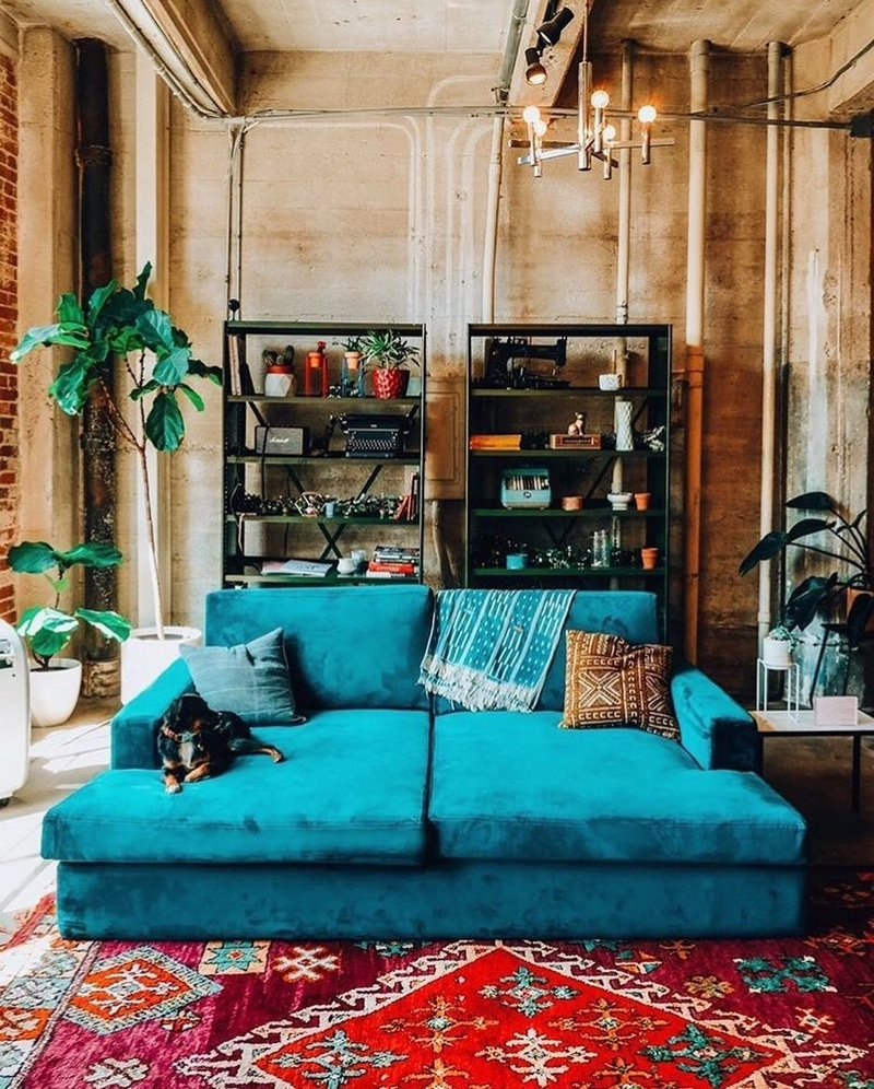 bohemian home decor ideas (13)