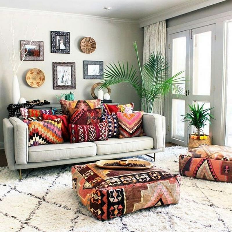 bohemian home decor ideas (18)