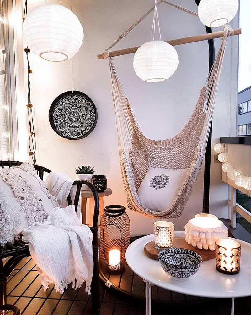 bohemian home decor ideas (22)
