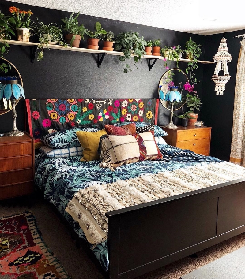 bohemian home decor ideas (3)