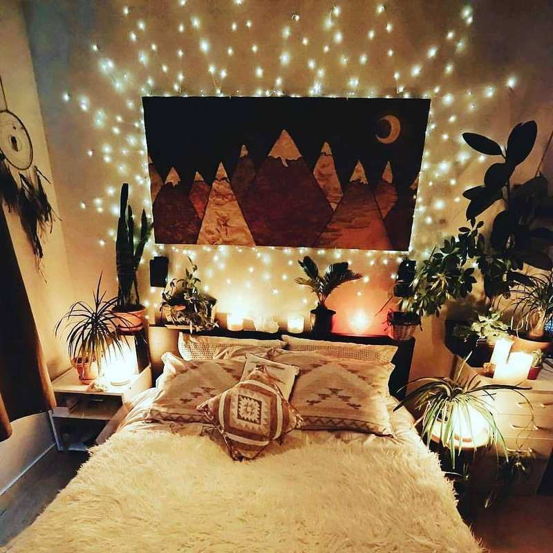 bohemian home decor ideas (32)